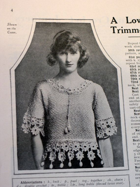 Vintage Knitting Patterns 1920s : 1000+ ideas about Pdf Book on Pinterest Free pdf books, Book folding and Bo...