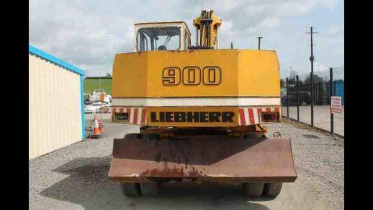"""Liebherr 900 """"rubber duck"""""""