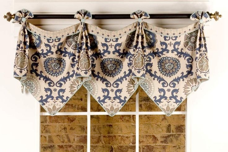 Emily Curtain Valance Sewing Pattern