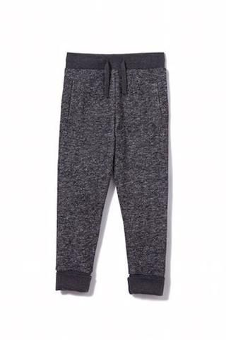 Boys Milky Cuff Trackpant - the contrast makes these a little more than just trackies!