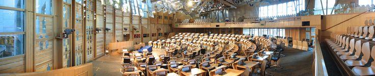 Scottish Parliament01 2005-11-13 - Enric Miralles - Wikipedia, the free encyclopedia