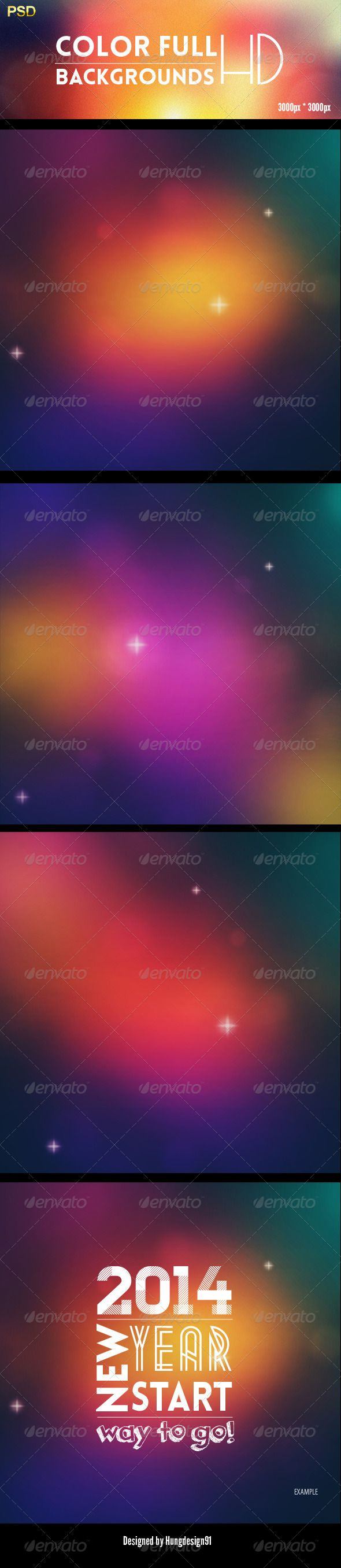 Color Full Backgrounds HD