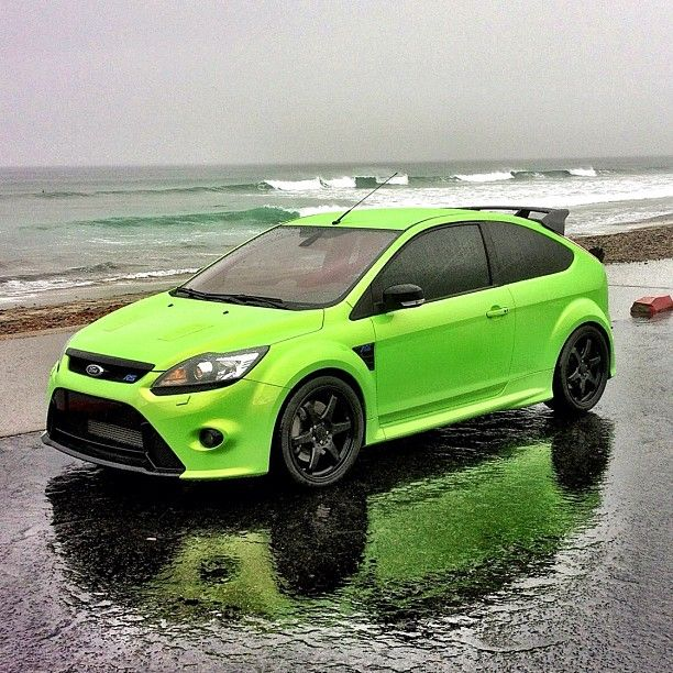 European Focus ST. Beauty backdrop and love the bright rally colours. Wish these were in Canada