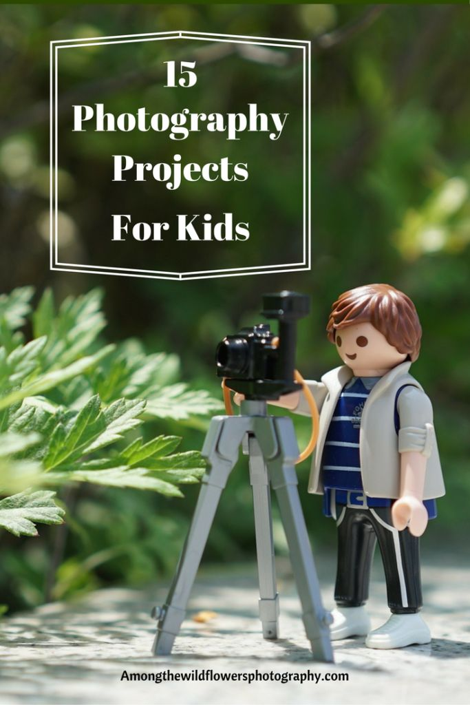 These easy photography projects are perfect for kids, but can easily be done as adults