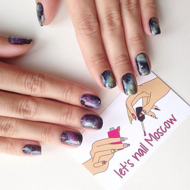 я на несколько дней пропала из интернета, но это только потому что у меня готовится супер мега новость, о которой смогу рассказать через неделю  зато тем временем покажу вам космические ногти для любимой @daryaryndina  #galaxy #galaxynails #космос #маникюр2014 #москва #nailru #nail_ru #nailsoftheday #nails #nailart #naildesign #nailpolish #nailpolishmaniac #ногти #маникюр #лакдляногтей #amazingnaildesigns #nailblogger #blogger #блоггер #beautyblogger #girlynailsdeluxe #welove...