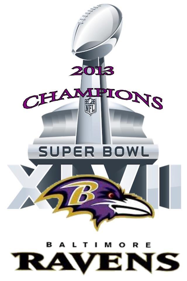 Baltimore Ravens 2013 Super Bowl Champion