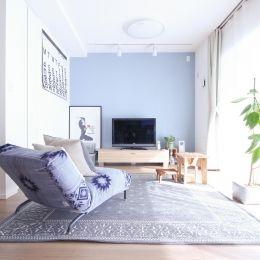 建築家とつくりあげた理想のリノベーション空間の部屋 間仕切りのない広い空間