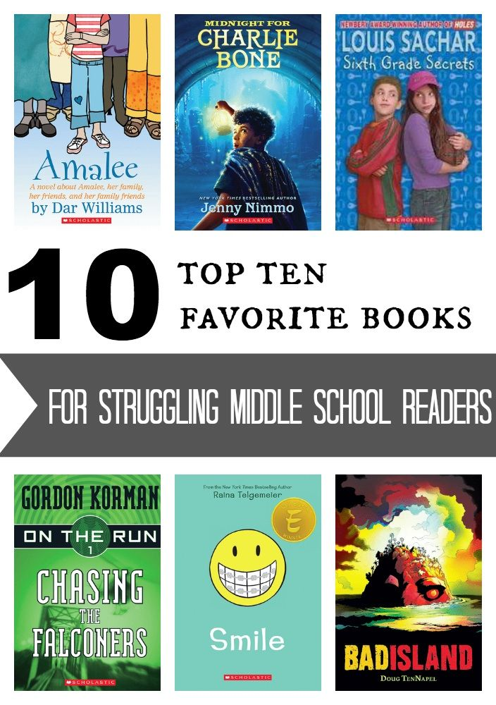 High-Interest Books for Struggling Middle School Readers | Parents | Scholastic.com// #familytimemachine: