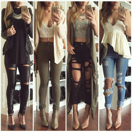 Cute fall outfits- love them all!