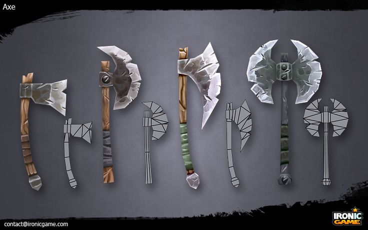 Low Poly Axes