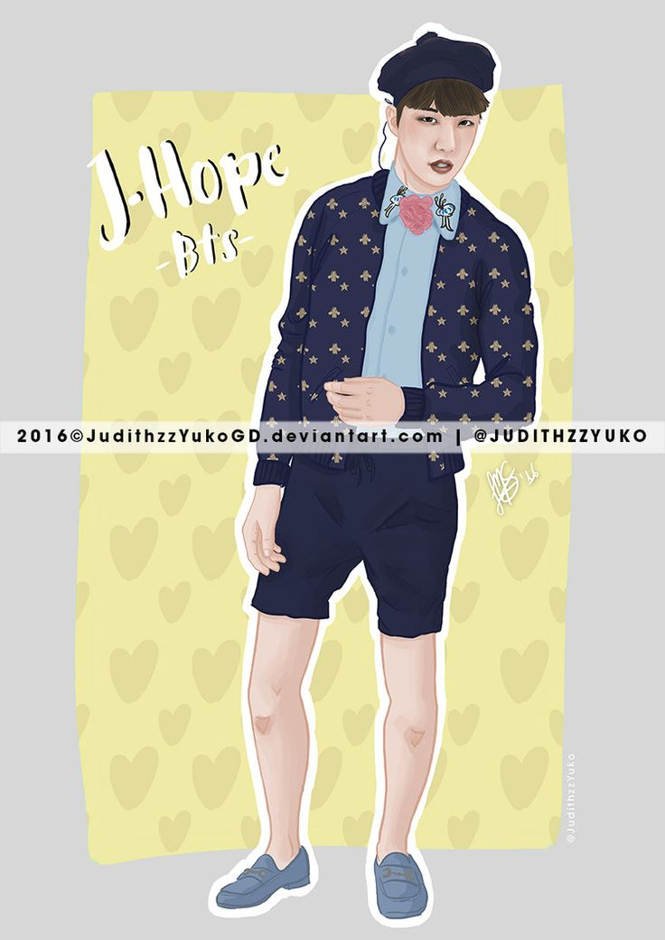 J-Hope -BTS- by JudithzzYukoGD.deviantart.com on @DeviantArt