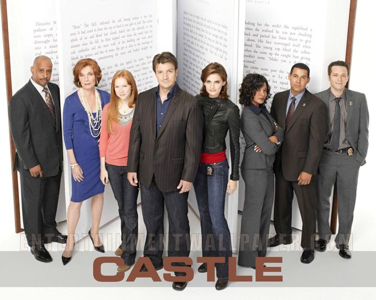 Castle - I really don't know what it is about this one but when I do watch it I can't stop.  Maybe something to do with Stana Katic?