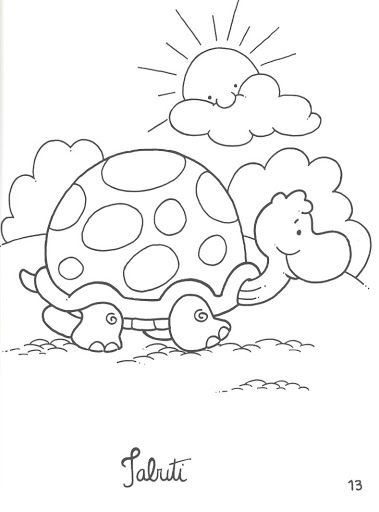 141 best Turtles images on Pinterest Drawings Coloring pages