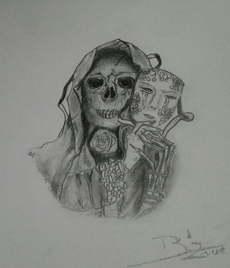 Tatouage crâne double face - B'zine