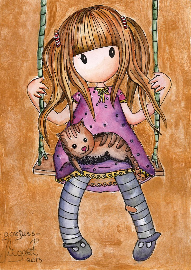 Gorjuss fan art by Mariliizu84.deviantart.com on @DeviantArt
