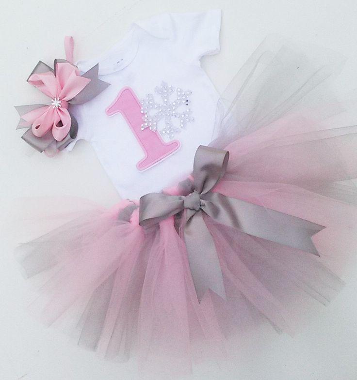Onederland de invierno color de rosa y plata por Janslittlehearts