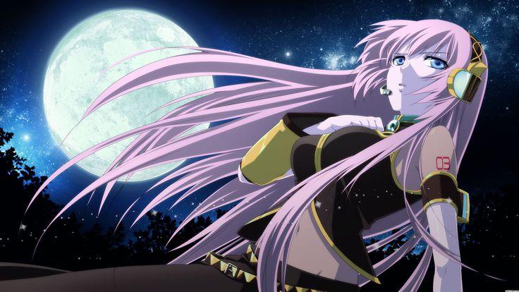 Cute Anime Girl On Grass Desktop Backgrounds One HD Wallpaper