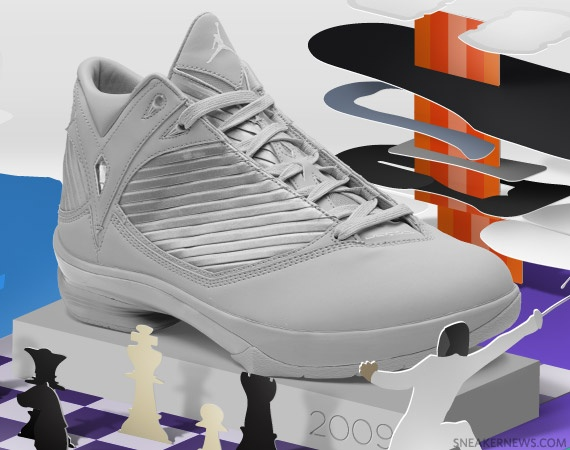 """Air Jordan """"WhiteOut"""" 2009"""