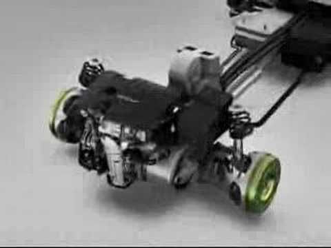 Electric Car with In-Wheel Motor Volvo ReCharge concept - YouTube