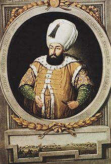 Sultán Mehmed III.Mehmed III. (Také Mehmet III., Arab. Muhammad III., osmanskou turečtinou: محمد ثالث Mehmed-i sály; 26. května 1566 − 21. prosince 1603) byl syn sultána Murada III. a 13. sultán Osmanské říše.  Vládl od 16. ledna 1595 do 21. prosince 1603. Jeho předchůdcem byl Murad III. a nástupcem Ahmed I.
