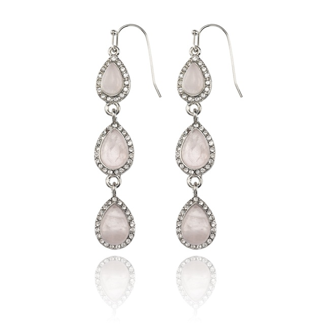 Beautiful x SAMANTHA WILLS - FOREVER LOVE DROP EARRINGS - ROSE