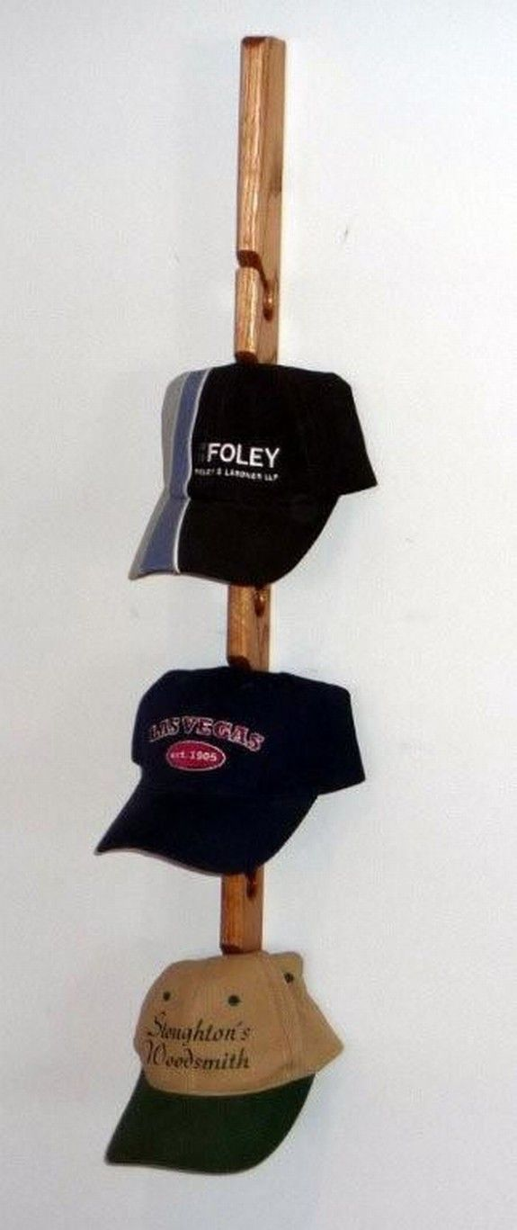1000 ideas about baseball cap rack on hat