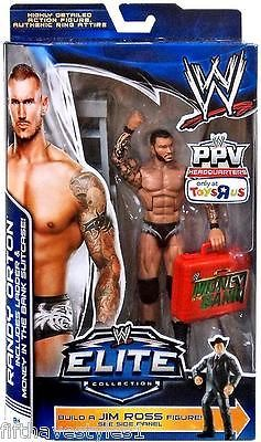 RANDY ORTON MONEY IN THE BANK WWE MATTEL Elite Collection ACTION FIGURE TOY