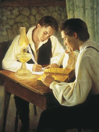 Joseph Smith and Oliver Cowdery translate the Book of Mormon - length of time involved.
