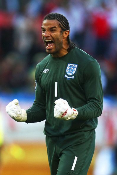 David James england | David James David James of England celebrates the opening goal by ...