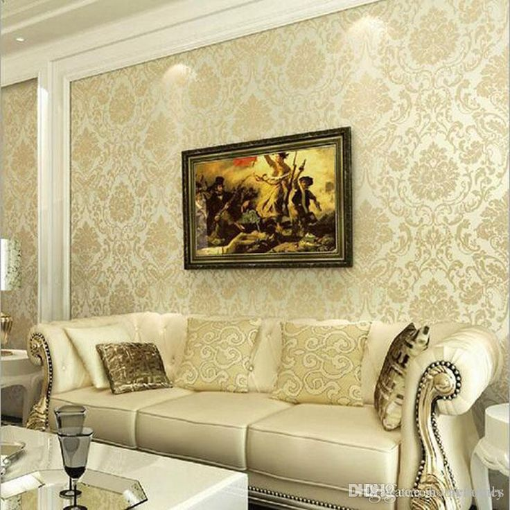 Large 3d European Pearl And Rose Jewelry Tv Background Wallpaper Living Room Wallpaper Full Seamless Mural From Feifan66 27 14 Dhgate Com Wallpaper Living Room Best Living Room Wallpaper Elegant Living Room