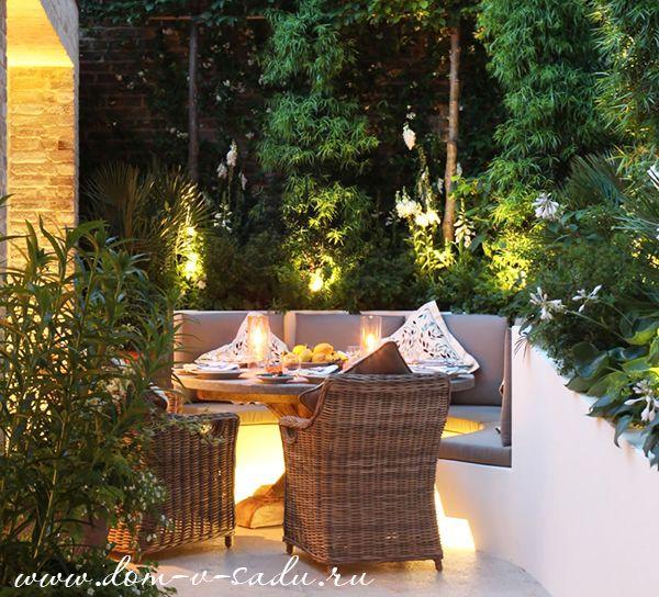 Дизайн двора частного дома | Красивый Дом и Сад