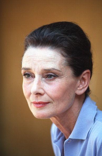Audrey Hepburn in Vietnam, 1990.