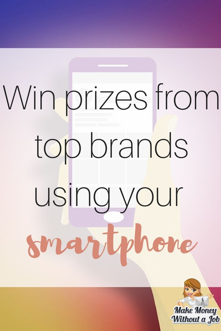 Win prizes from top brands using your smartphone