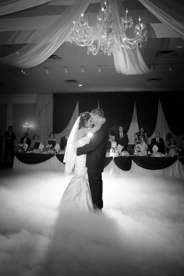 fog machine during the first dance -- unexpected! So freakin cool :) smelly tho