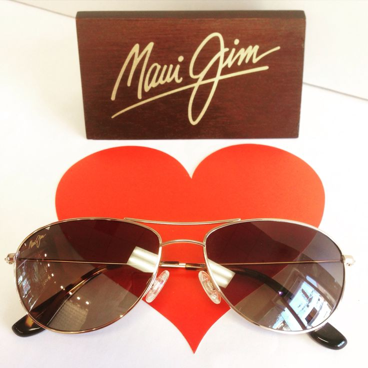 Have a petite face...these are the prefect classic aviator style! Maui Jim Sunglasses Baby Beach