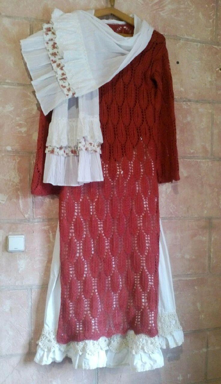 Купить Вязаное платье туника. Скидка - туника, туника-платье, туника вязаная, весенняя одежда