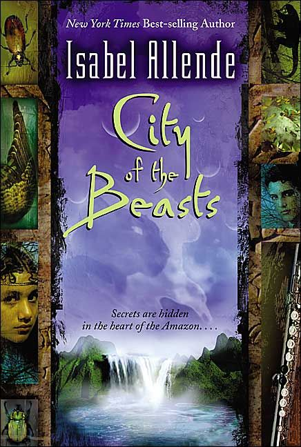 "In 2002, Allende became writing novels for young adults. The first being ""City of the Beasts""."