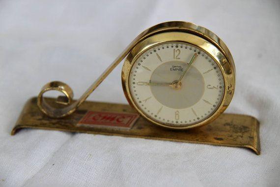SALE Smiths Empire Windup Clock / Canadian by SandrasCornerStore,