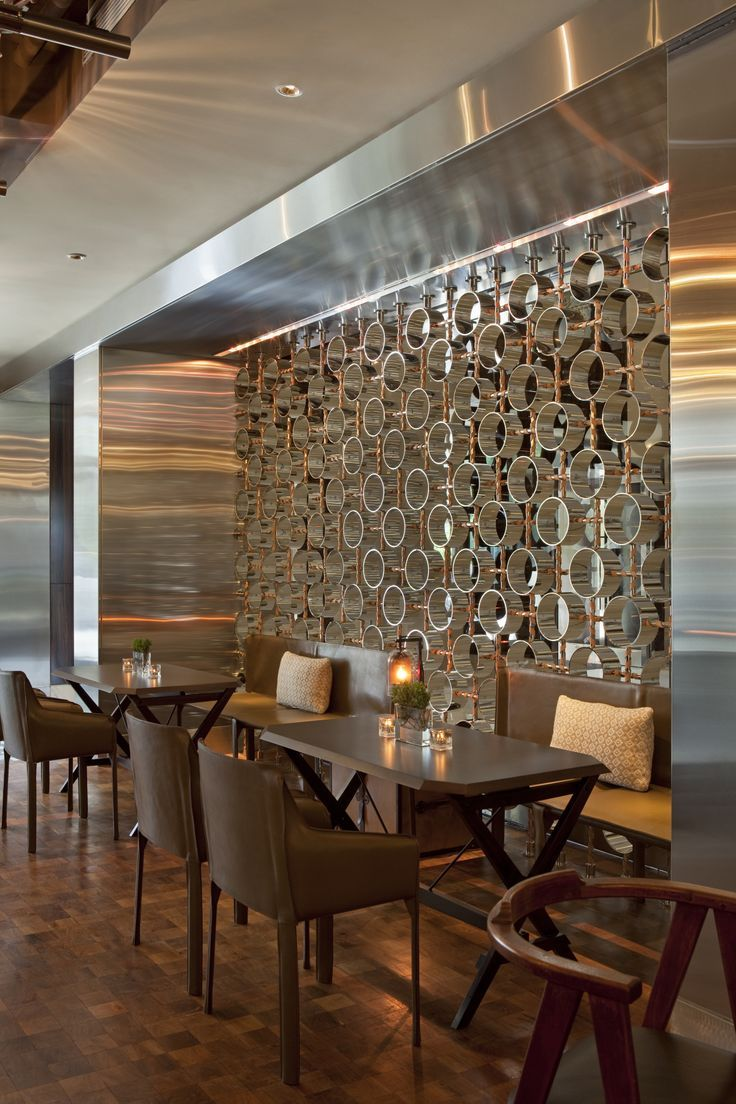 Creative partition ideas courtesy interior architect mohamed amer - Happy Saturday We Wish We Were Brunching At This Restaurant Inside The Four Seasons