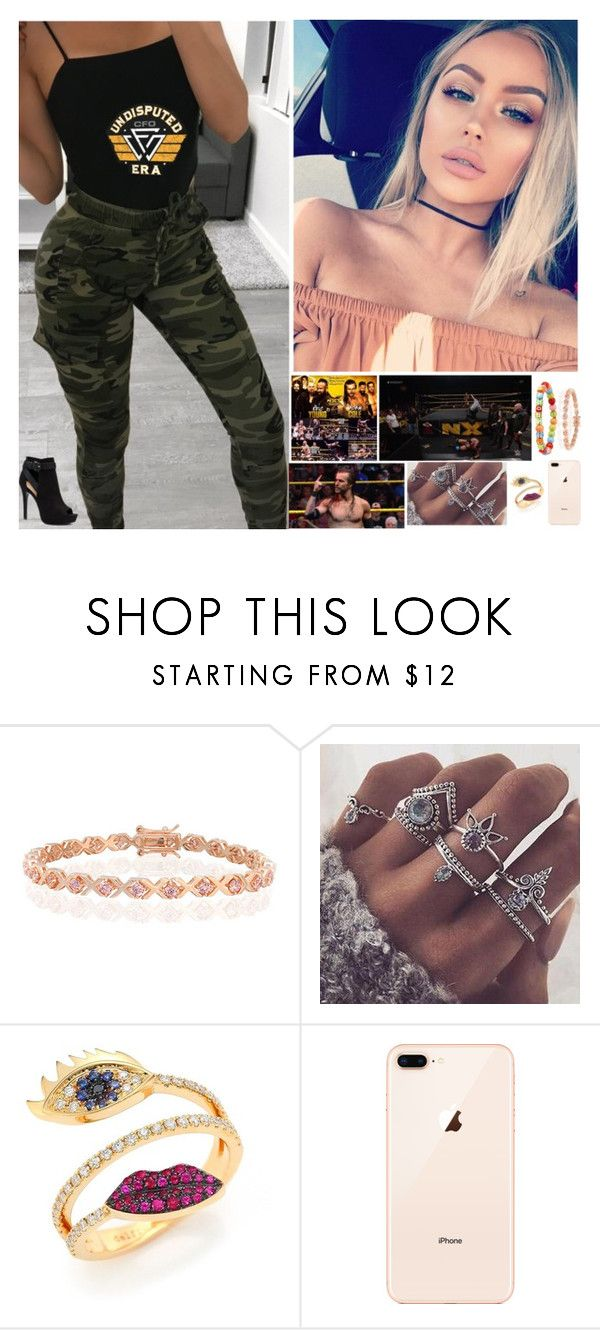 """""""💋Brianna 💋-NXT: Adam vs. Eric Young: """"Tension Is Starting"""""""" by banks-on-it ❤ liked on Polyvore featuring WWE, Bling Jewelry, Delfina Delettrez and Apt. 9"""