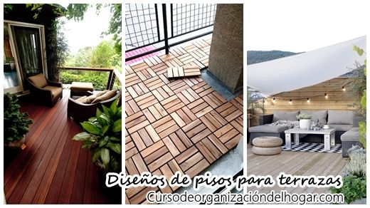 25 best ideas about pisos para terrazas exteriores on for Decoracion patios exteriores