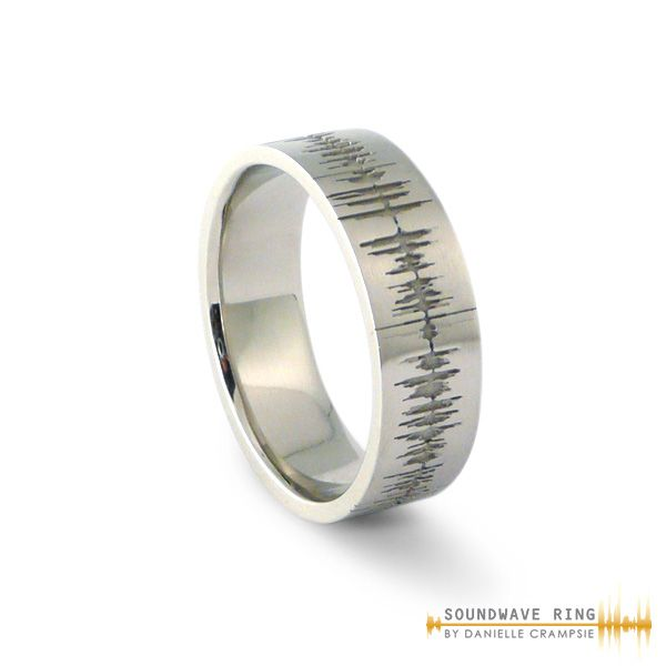you or custom true they love song special voiceprints remind share fingerprint on best ring unique a to soundwave images engagement soundwavejewels fingerprints similar message how wedding are your rings