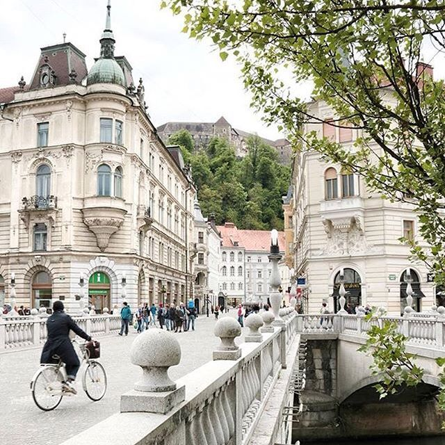 Ljubljana, Slovenia This stunning pic is shared by: ◦