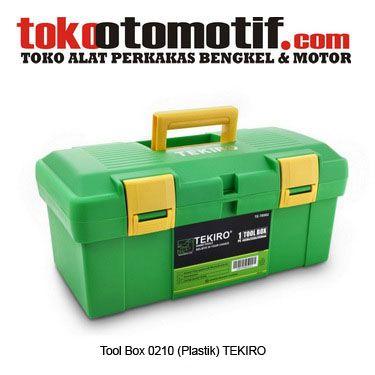 Tool Box 0210 (Plastik) TEKIRO - kotak wadah perkakas  Kode : 011275 Nama : Tool Box 0210 (Plastik) Merk : Tekiro Tipe : TB902 Berat Kirim : 5 Kg Ukuran : 44.2×23.8×20.7cm  #toolbox #hargatoolbox #toolboxkrisbow #hargajualtoolbox #kotakperkakas #jualtoolbox #boxperkakas #toolboxplastik
