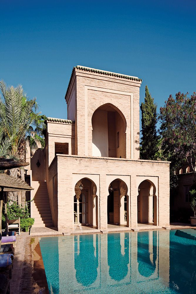17 best images about exterior on pinterest villa design for Moroccan house plans