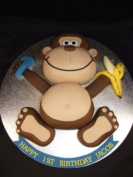 25+ best ideas about Monkey cakes on Pinterest Monkey ...