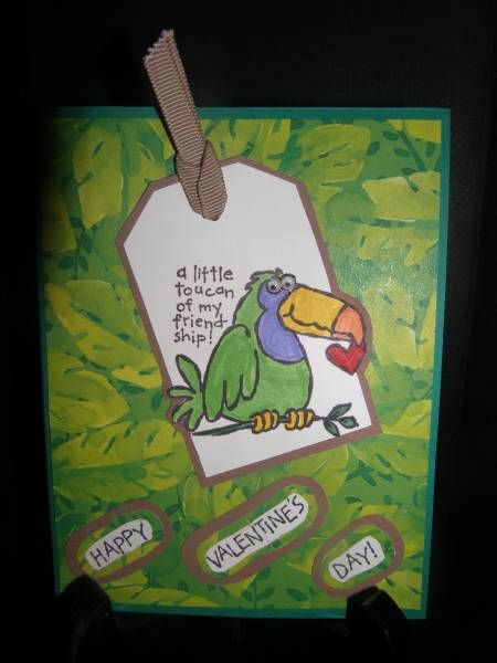 Toucan of My Friendship by Lilliann - Cards and Paper Crafts at Splitcoaststampers