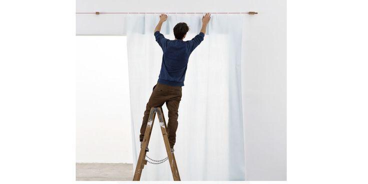 Ready Made Curtain, tenda da personalizzare, di Ligne Roset, su NOmadeDESIGN http://www.nomadedesign.com/index.php/prodotti/pouff-tende-tappeti