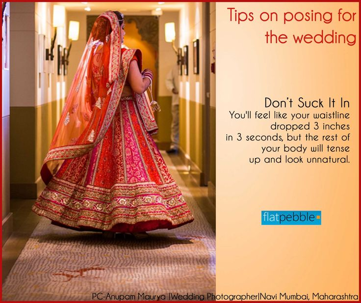 Tips on how to pose for your wedding!