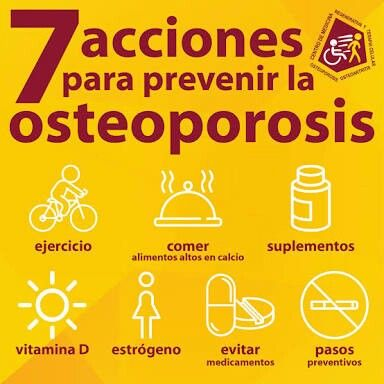 55 best images about osteoporosis cuidado con los huesos on pinterest tes health and sons - Alimentos para la osteoporosis ...